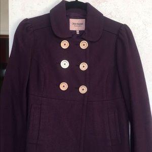 Juicy Couture Purple Coat